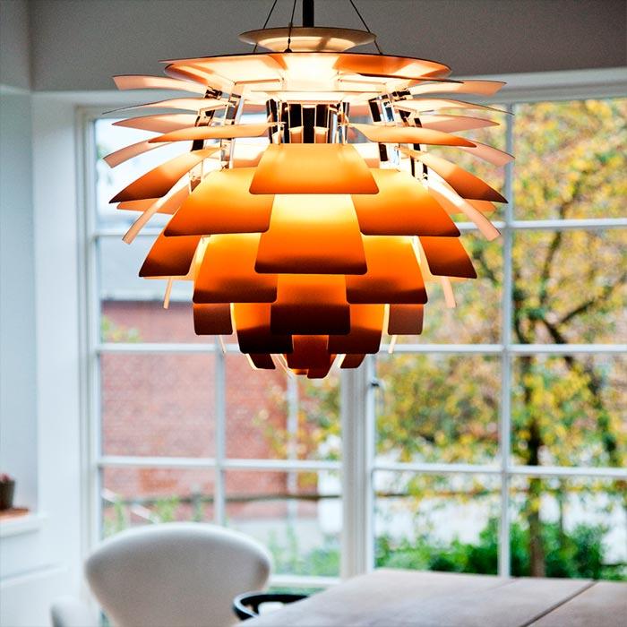 Tidssvarende Historien om PH Koglen - dansk lampe design af Poul Henningsen AC-87
